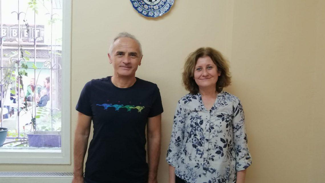 Yeni İl Temsilcimiz Hasan Karaköse Kulübümüzü Ziyaret Etti
