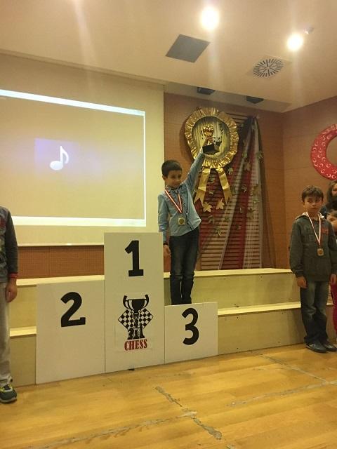Ulaş Yalın Derviş Doğa Koleji Turnuvası'nda Üçüncü Oldu