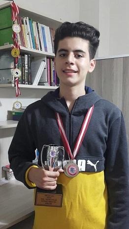 Kulübümüz sporcuları Alişan Alaşahin ve Eray Uysal Bizleri Gururlandırdılar