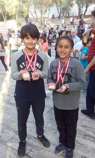 Mustafa ve Kemal'den Çifte Başarı
