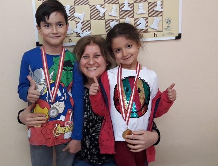 Minik Sporcularımız Nihal ve Yaman'la Gururlandık