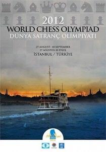 2012 Dünya Satranç Olimpiyatı 27 Ağustos'ta İstanbul'da