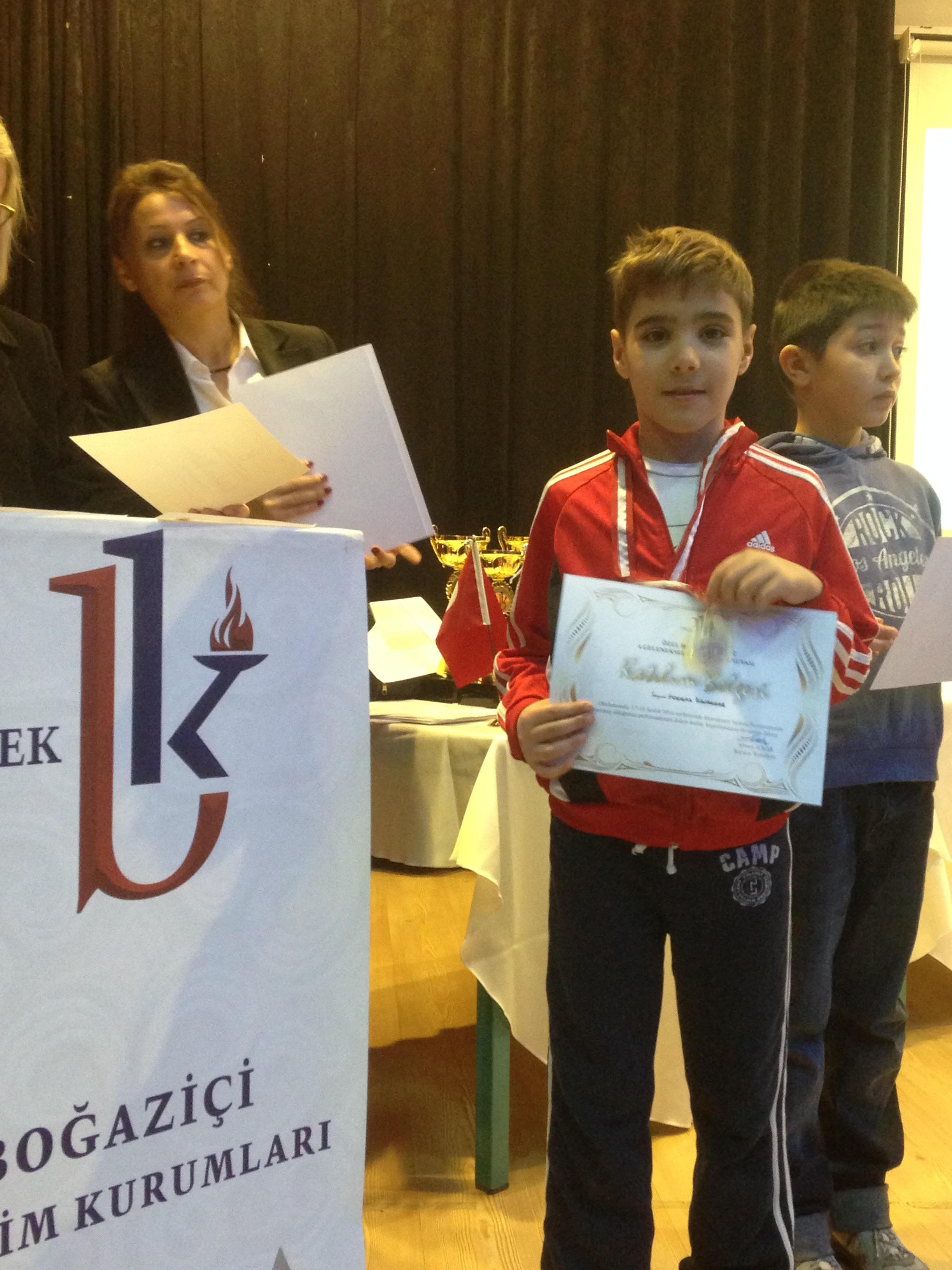 Boğaziçi Koleji Turnuvasında Poyraz Özvardar Beşinci Oldu
