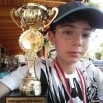3.lük Kupa ve Madalyası Yusuf Can Başer'in